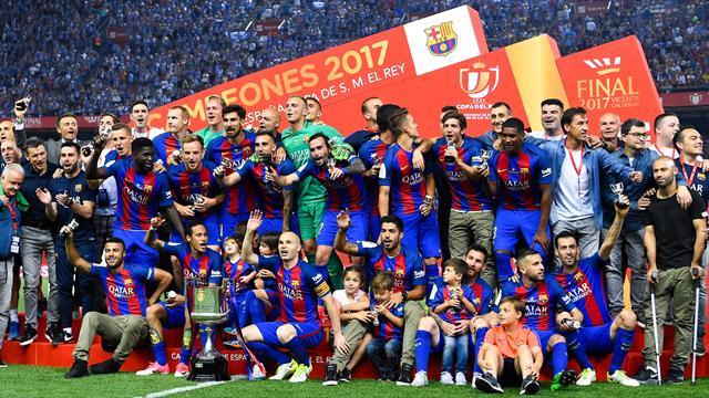 Le Barça se console et ne gâche pas les adieux de Luis Enrique