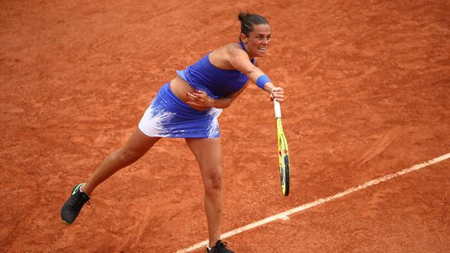 Roberta Vinci eliminata al primo turno: Monica Puig s'impone in 3 set