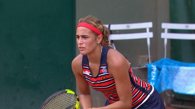 Highlights: Monica Puig beats 31st seed Roberta Vinci