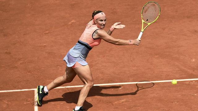 Каролин Возняцки одолела Светлану Кузнецову наRoland Garros