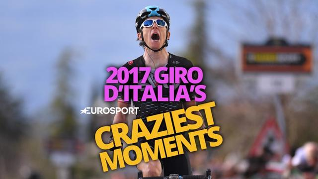 Top 5 craziest moments of the 2017 Giro d'Italia