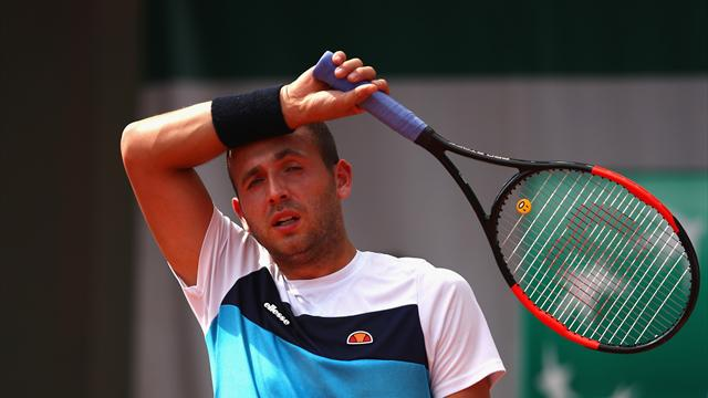 Evans knocked out by Robredo