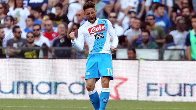 Il Napoli batte la Sampdoria 3-2