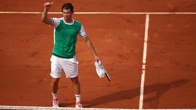 Roland-Garros: retour gagnant pour Gaël Monfils