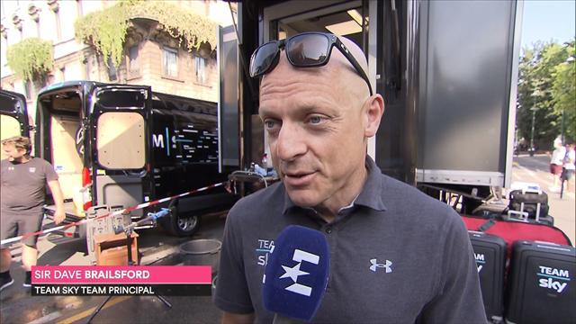 Brailsford: Team Sky on track for the Tour de France