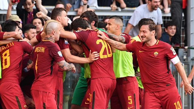 Pour la der de Totti, la Roma remplit sa mission
