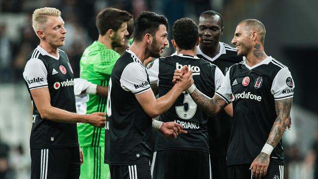 Besiktas clinch back-to-back Turkish titles