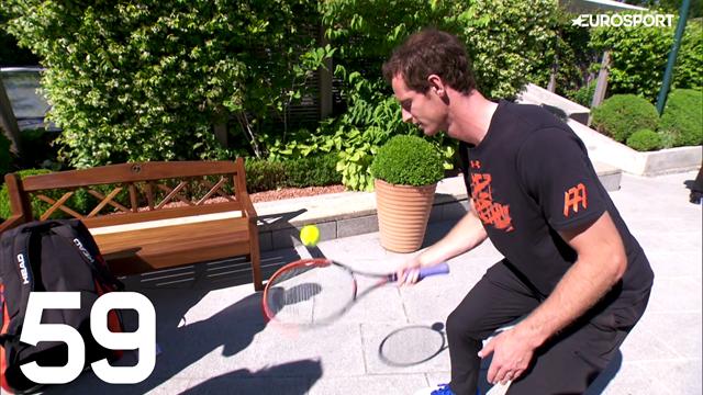 Serez-vous capable de battre Murray au #Racketchallenge ?