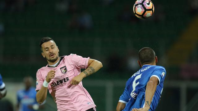 L'Empoli si butta via a Palermo: perde 2-1 e retrocede in Serie B