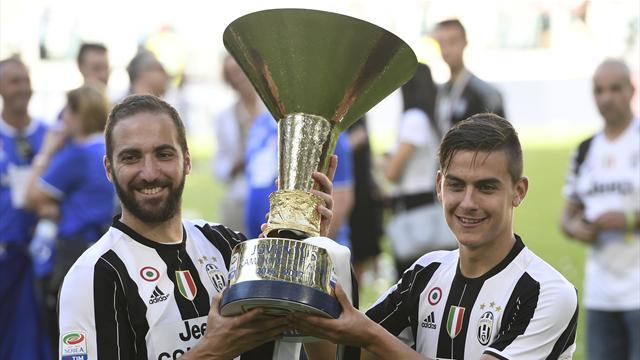 La Juve et les buteurs au sommet, le flop de Hart et de l'Inter, les adieux de Totti