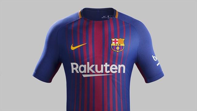 Le nouveau maillot domicile du Barça entre en scène