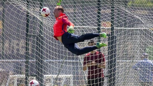 Ter Stegen renueva su contrato con el FC Barcelona hasta 2022