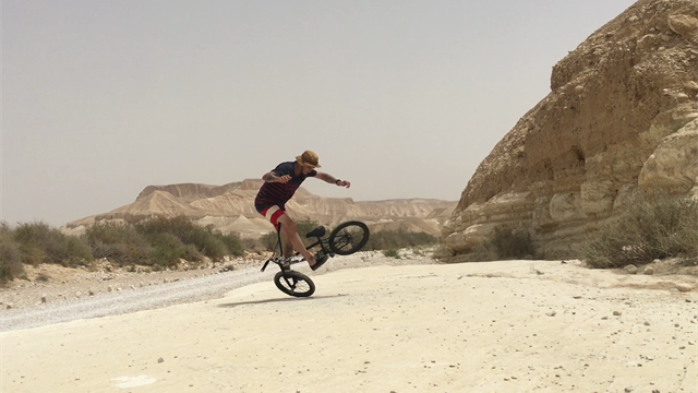 Infinite ride in the Desert Negev