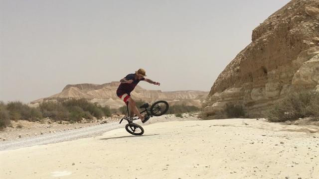 Corsa infinita nel Deserto Negev
