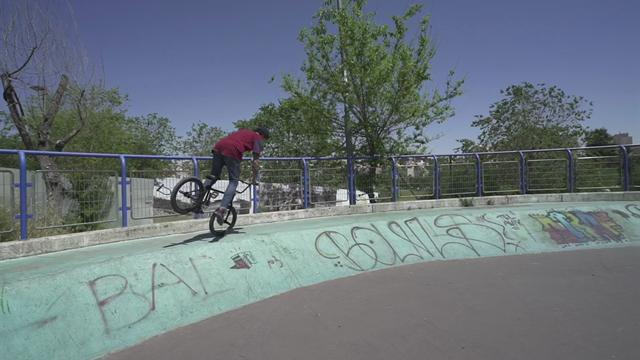Demo in Tel Aviv craziest Skatepark
