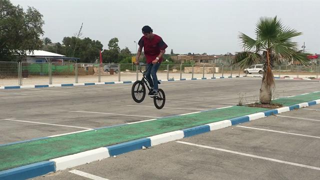 BMX en el centro de Tel Aviv