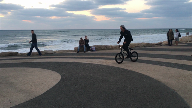 Playing with Tel Aviv locals