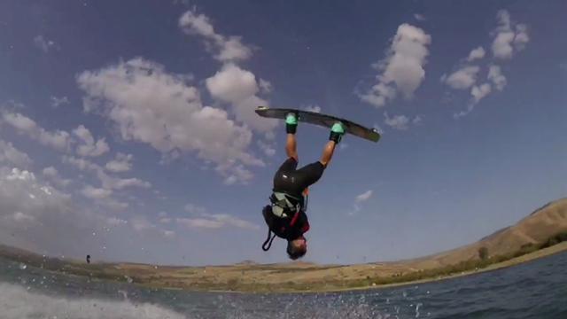 Kite Surf Erfahrung auf dem See Genezareth