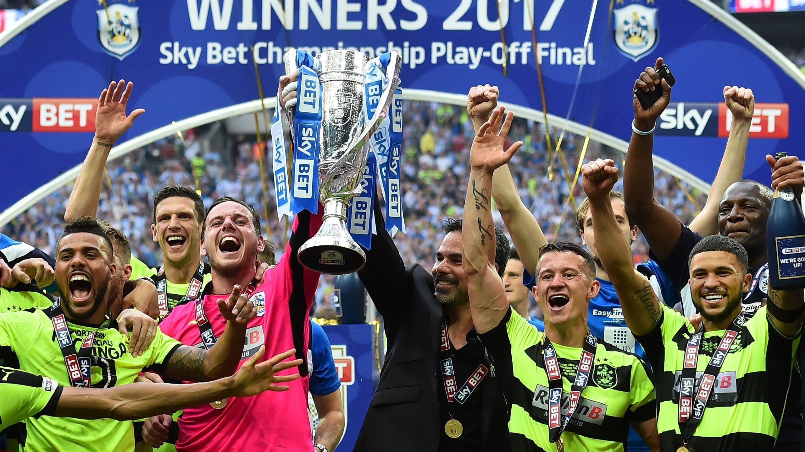 Huddersfield won the playoffs last season