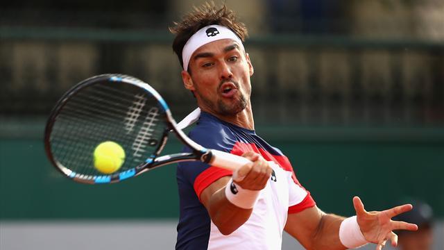 Roland Garros, avanzano Napolitano e Bolelli