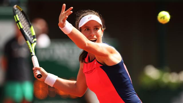 Johanna Konta: French Open shows women's tennis is wide open