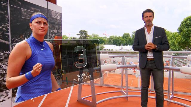 The coach : Kvitova a retrouvé son tennis d'attaque, mais le physique tiendra-t-il ?
