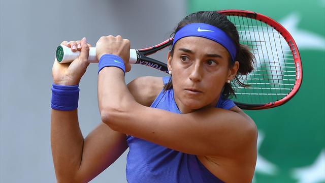Caroline Garcia se qualifie facilement pour le 2e tour — Roland-Garros