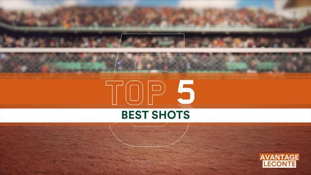 Le Top 5 des points de mardi : Monfils est déjà d'attaque, Murray allie précision et spectacle