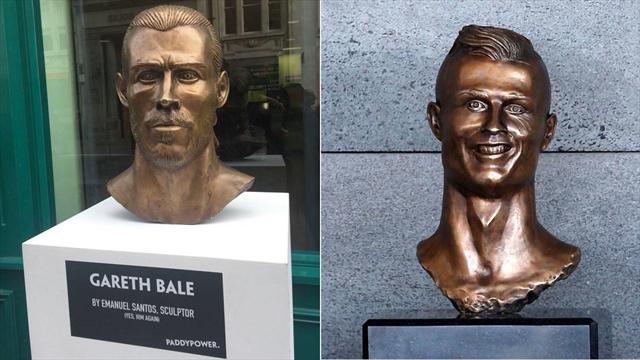 L'auteur du buste raté de Ronaldo a récidivé : cette fois-ci, c'est Gareth Bale qui y passe