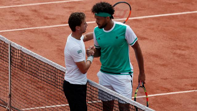 Tsonga : «C'est un peu le paradoxe du tennis»