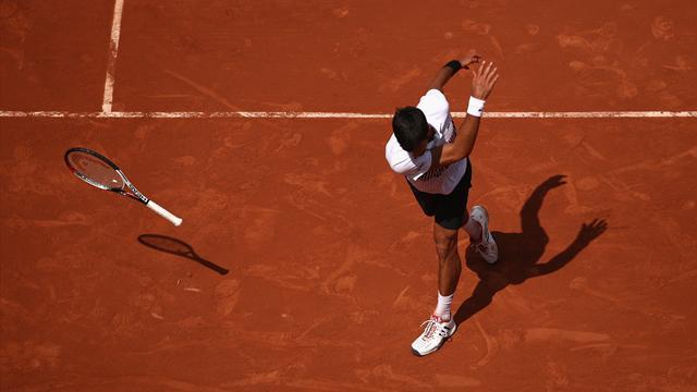 Djokovic s'énerve pour mieux garder le cap