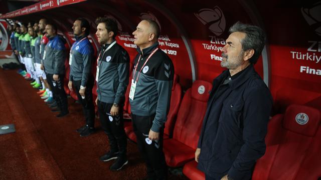 Aykut Kocaman kupa tarihine geçti