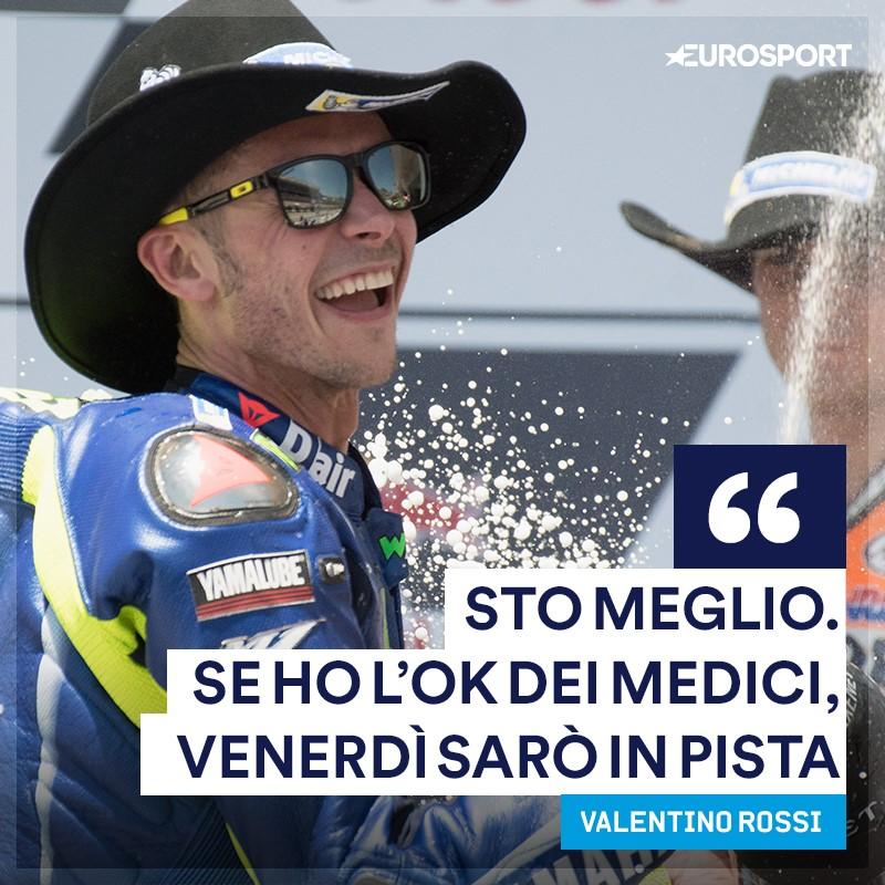 Moto: Rossi, peccato per il podio