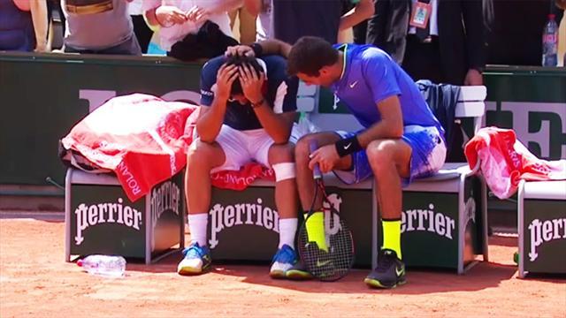 Roland Garros, Fognini vince il derby con Seppi