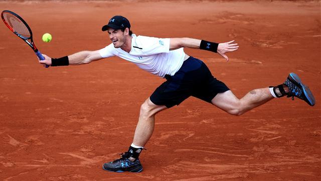 Le Top 5 des points de jeudi : Amortie puis volée réflexe, comment bien finir un match par Murray
