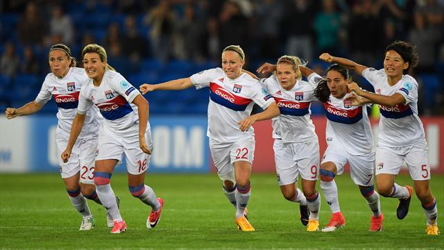 Lyon win dramatic shootout to defend title