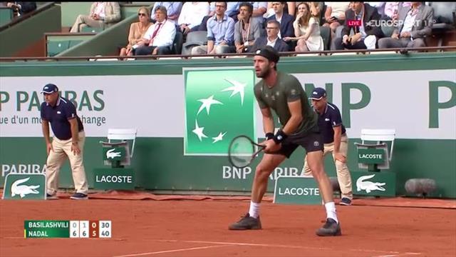Los partidos de Nadal y Djokovic, postergados por lluvia — Roland Garros