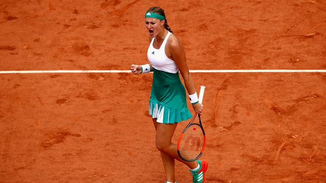 Deux surprises en quarts de finale — Roland-Garros