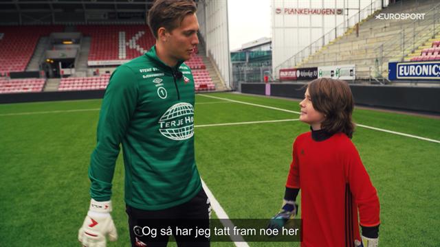 Drømmekampen: Jack (11) vil bli Norges beste keeper