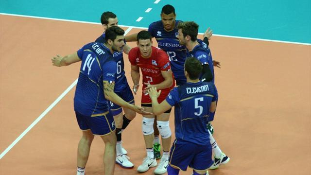 La France s'impose en ouverture contre la Bulgarie