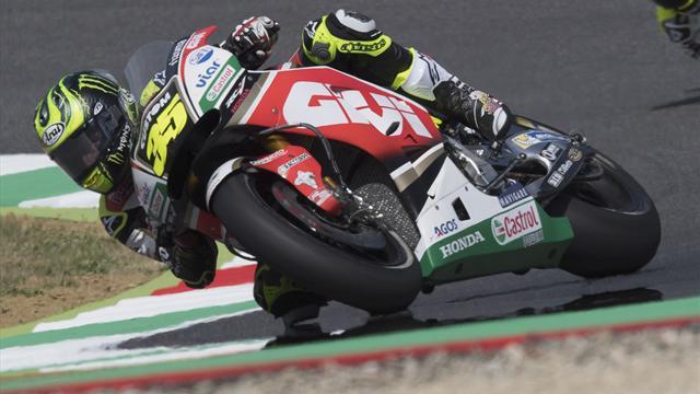 MotoGP, Crutchlow vola al Mugello nelle FP2, davanti ad un ottimo Dovizioso
