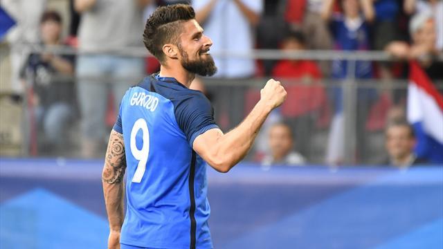Giroud a encore porté des Bleus ultra-dominateurs
