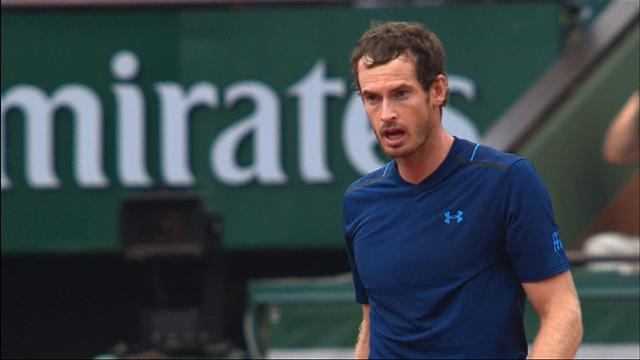 Andy Murray vs Karen Khachanov, French Open 2017