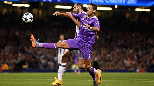 Chiellini : «Ronaldo fait souvent la différence dans ces matches-là»