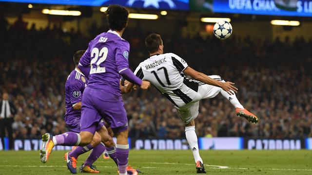 Le splendide retourné de Mandzukic dans la lucarne a conclu l'action de rêve de la Juventus