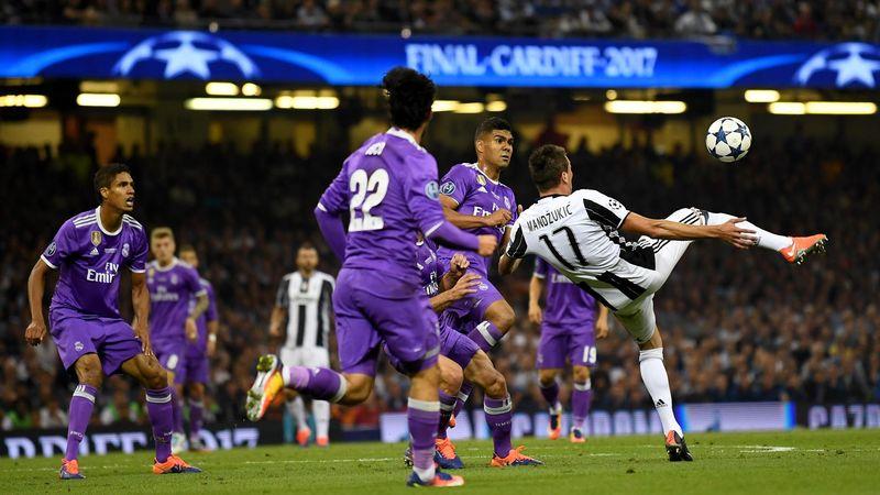 Mandzukic scores his wonder goal