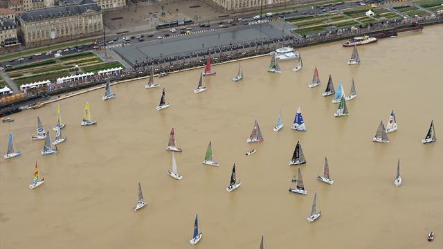 Solitaire du Figaro : Macaire (Groupe SNEF) remporte le prologue