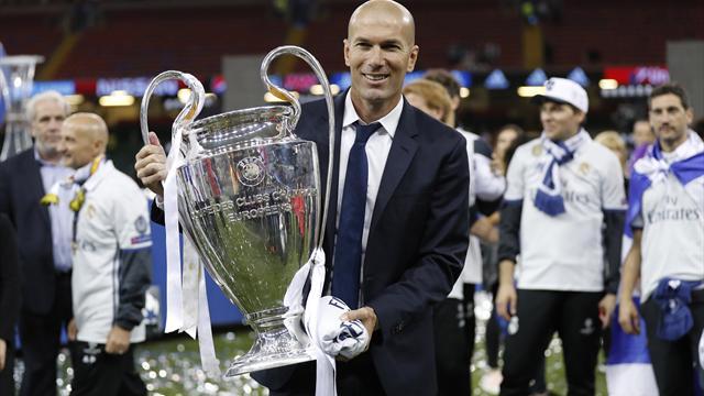 De novice décrié à successeur de Sacchi : en un an et demi, Zidane a changé de dimension