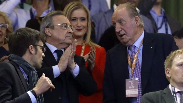 """Florentino: """"Esta es la plantilla más unida desde que llegué al Real Madrid"""""""