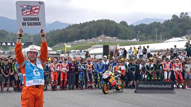 Valentino Rossi quedó segundo en el entreno de la GP de Italia